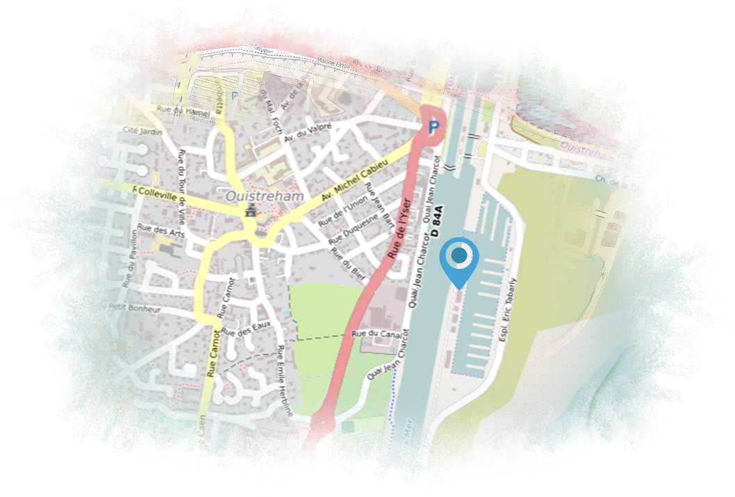 plan pour location de jet ski en normandie
